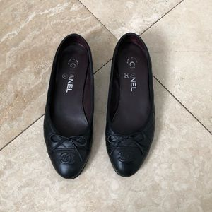 Channel Flats shoes